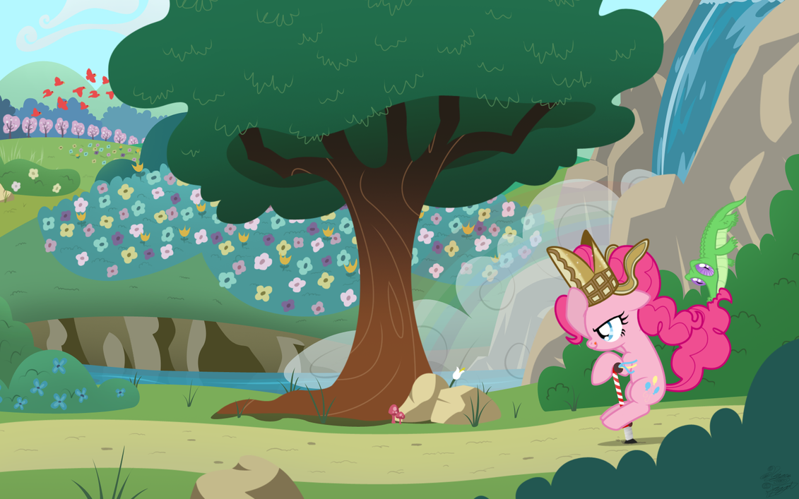 Pinkie's Pogostick Adventure by FacelessJr
