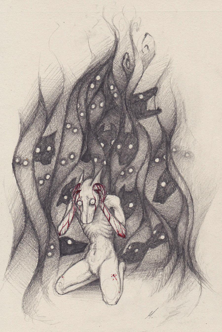 Schizophrenic by Mayka94 on DeviantArt
