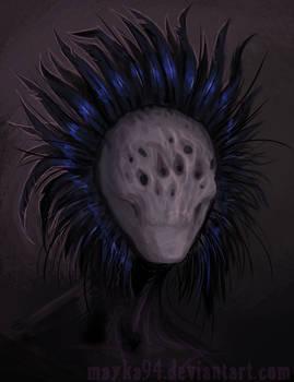 Feather headdress speedpaint
