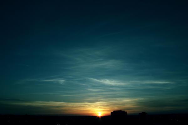 Sunset by nestrstock