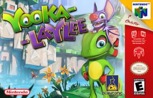 Yooka-Laylee Nintendo 64 Box Art by Qualbert