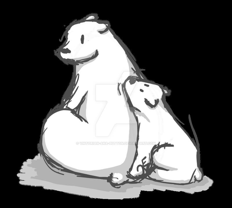 Polar Bears by ViktoriaN-aka-Button