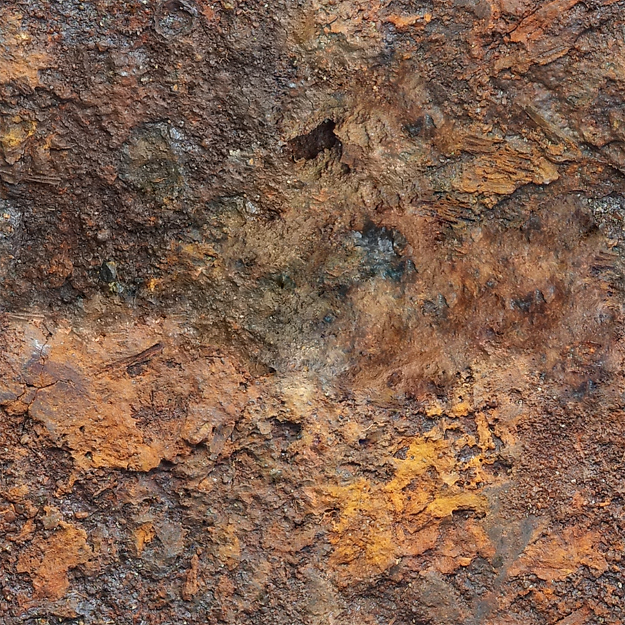 Rusty Metal Texture Seamless Rusted Metal 01...