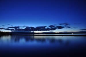Good Night Yellowstone Lake by Jamest4all