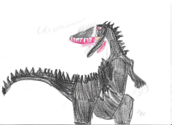 Giganotosaurus carolinii by GodzillaJedi360
