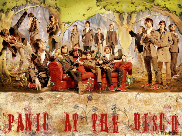 panic at the disco wallpaper by taramcrmy d1tfmui