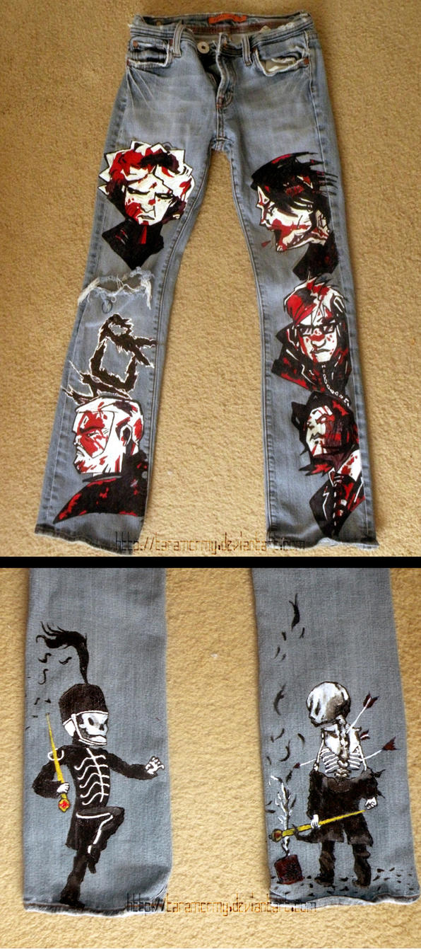 MCR pants - final product by TaraMCRmy