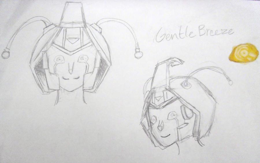 Autobot GentleBreeze by WindyRen