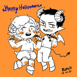 Happy Halloween by EvnfreedRR