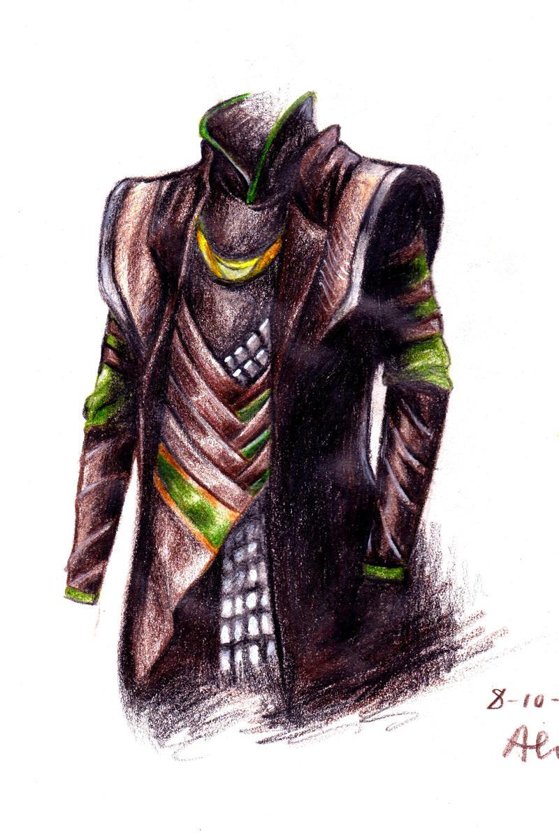 Loki's outfit by Madmorumotto