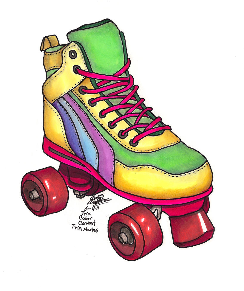 80's Roller Skate by Sinsofthesea on DeviantArt