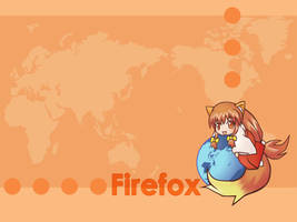 Firefox-Tan Wallpaper by HaMsTeYr