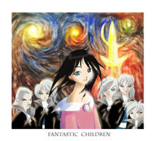 Fantastic children - FANART by Kamyk