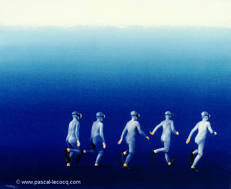 CONTRE COURANTS MARINS - Counter-current - by Pasc by bluepainter357