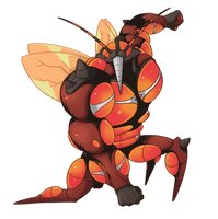 Buzzwole - Bug Collab by xOwleyex