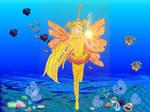 Winx- golden fairy