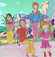 Season 3 Minor Fairies by cupcakedoll