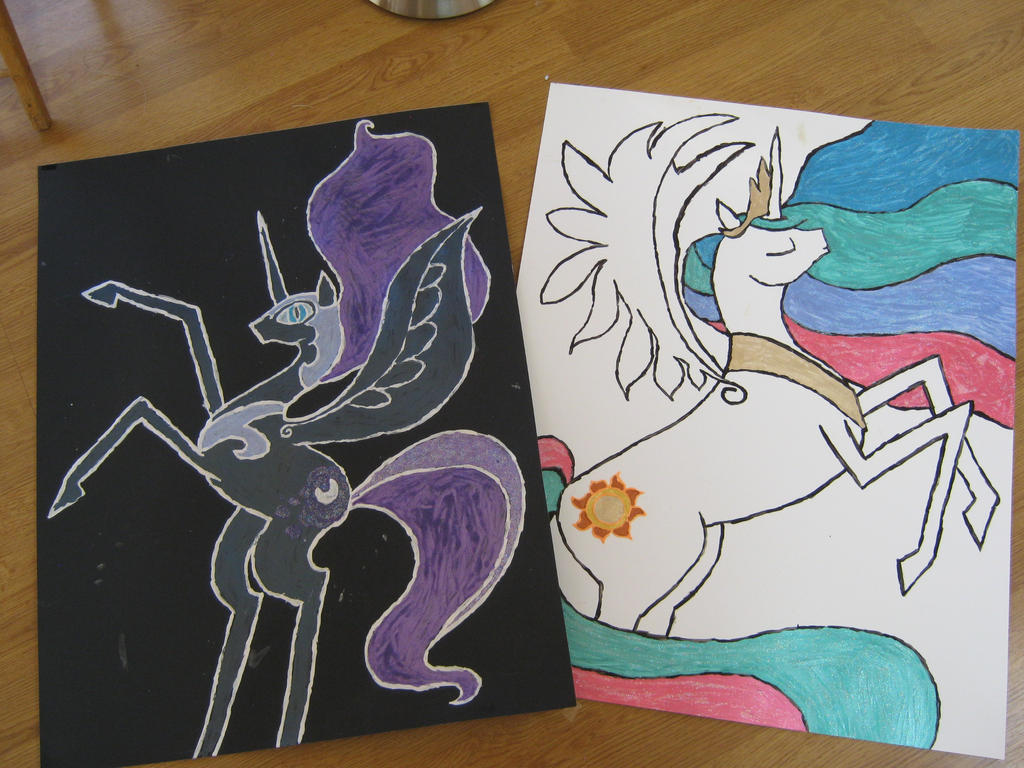 Pony posters! by cupcakedoll