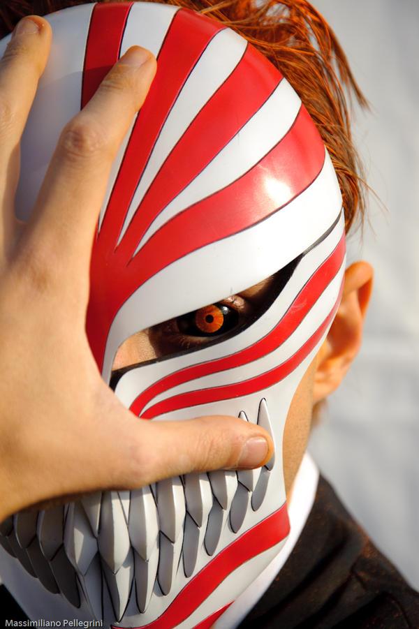 Ichigo vizard 04 by yaka17 on deviantart - Ichigo vizard mask ...