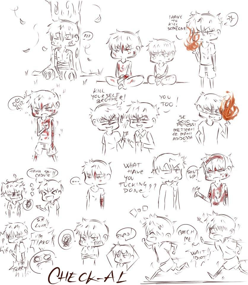 chibi sketch by checkal