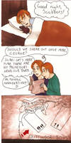 Ron's bed mate by CarmenFoolHeart