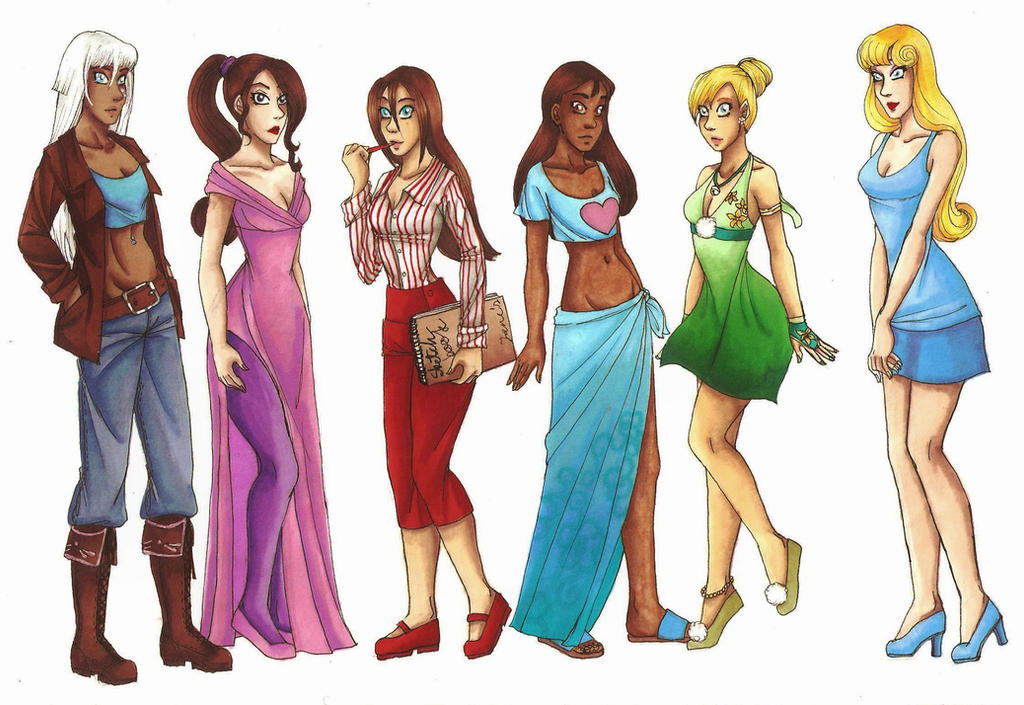 Modern princess clothes disney princesses in modern