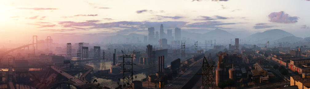 Los Santos in the Morning (Grand Theft Auto V) by stuckart ...
