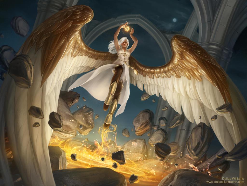 Metallic Angel by Dallas-Williams