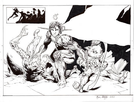Wesdeacon Pinup inks
