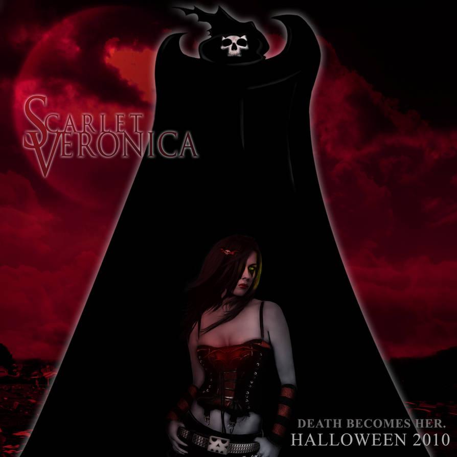 Scarlet Veronica Poster by ChadJackson