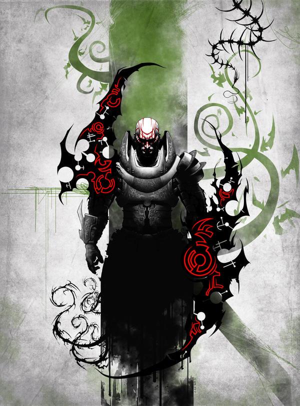 NOCTURNUS The Shadow Raider by diablocomunista