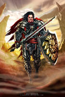 Medieval Warrior by e-guerrero