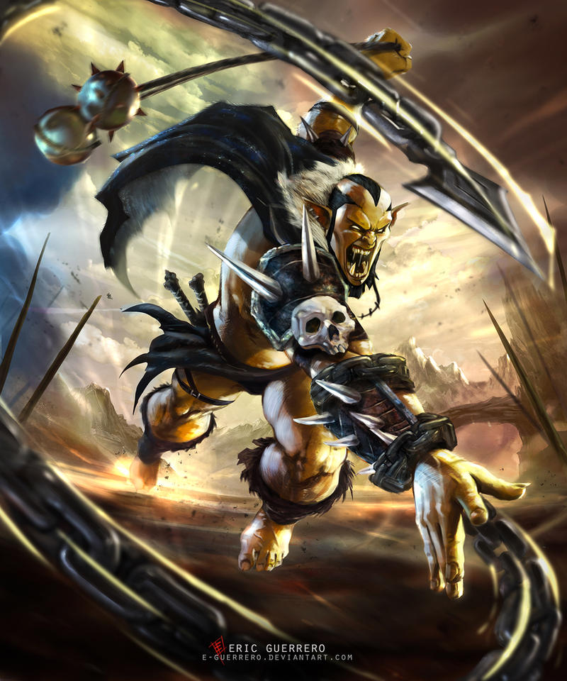 SECTUM - ORC by e-guerrero