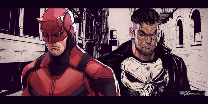 Daredevil and Punisher