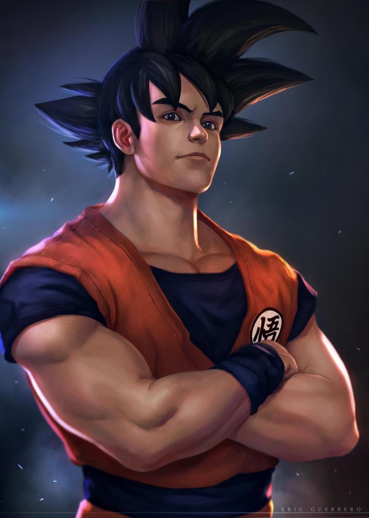Son Goku by e-guerrero