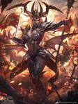 True Queen Lyrene - War Cry by e-guerrero