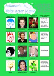 Dude Figures Voice Cast: Main Protagonists