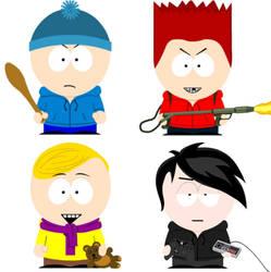 Dude Figures - South Park