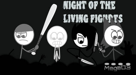 Dude Figures - Night Of The Living Figures by MegaD3