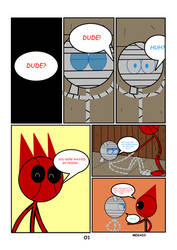 Dude Or Treat 2 - Page 01 by MegaD3