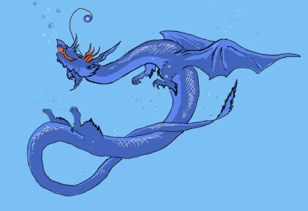 Water Dragon by rudwolf