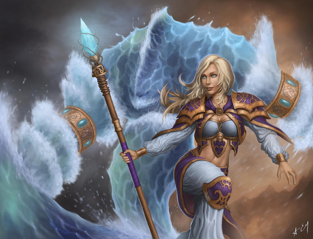 Jaina Proudmoore by Volendor on DeviantArt