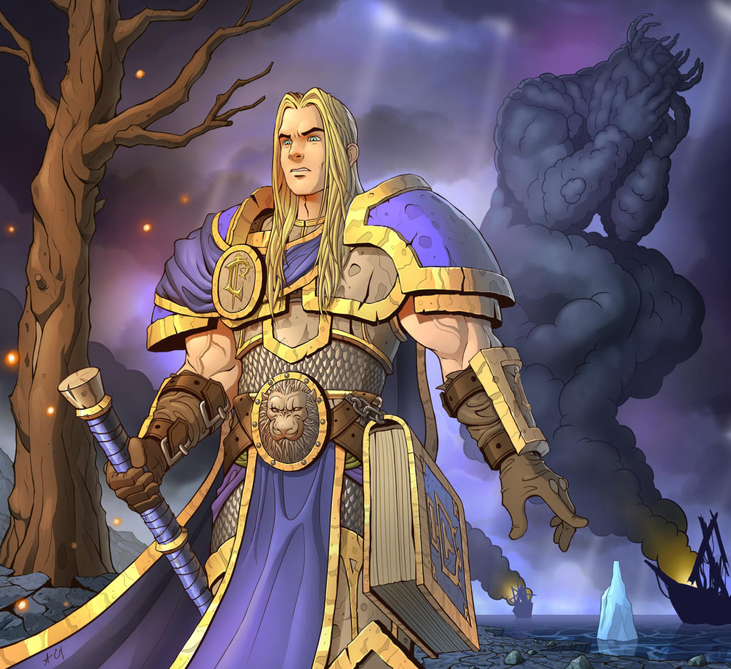 Betrayal Arthas Menethil By Volendor On Deviantart