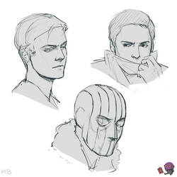 baron helmut zemo portraits