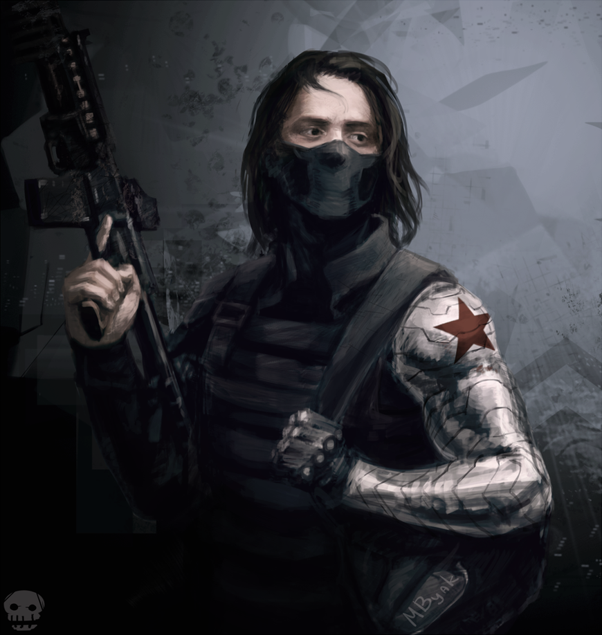 High Quality Winter Soldier By MByak ...