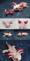 Clay Axolotl