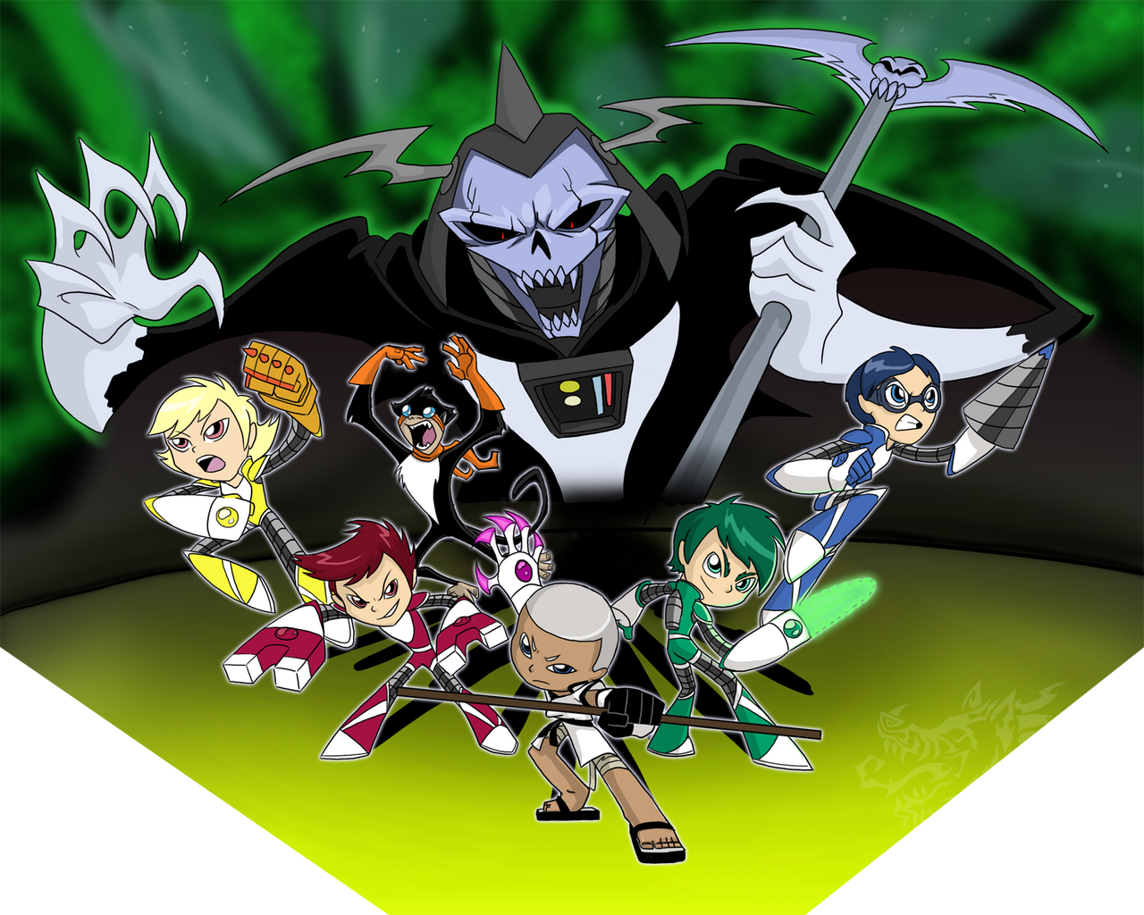 What super robot monkey team hyperforce go xxx