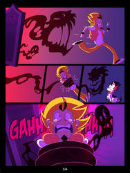 The Mystery Skulls Misadventures: 'Wounds' pg14 by Scyrel