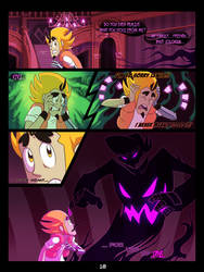 The Mystery Skulls Misadventures: 'Wounds' pg18 by Scyrel