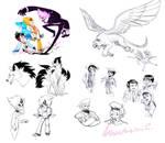 Live Stream Sketches